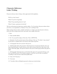 character letter format letter format 2017 character letter format