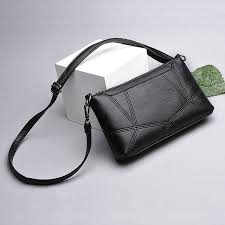 Soft leather bag <b>Female 2019</b> new mother <b>tide packets</b> shoulder ...