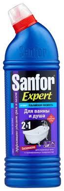 Sanfor <b>гель для ванны</b> и душа Expert Альпийская свежесть ...