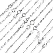 Buy <b>silver 925 necklace</b> and get free shipping on AliExpress