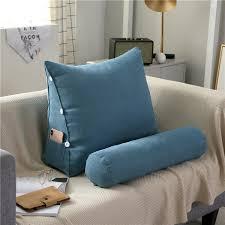Buy Lumbar Pillow Solid Color Comfortable <b>Adjustable</b> Pillow ...
