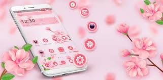 <b>Beautiful Pink</b> Flower Theme - Apps on Google Play