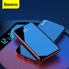 Baseus Quick Charge 3.0 <b>Wireless Power Bank</b> PD 10000mAh <b>Qi</b> ...