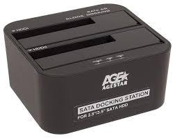 <b>Док-станция</b> для HDD <b>Agestar 3UBT6</b>-<b>6G</b> SATA HDD Черный ...