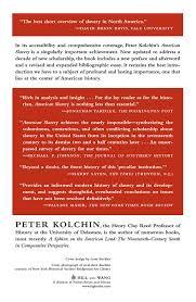 american slavery peter kolchin books american slavery 1619 1877 peter kolchin 9780809016303 books ca