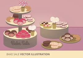 bake flyers vector art stock graphics images bake vector illustration