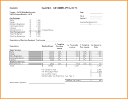 sample invoices for services rendered itemplated 7 sample invoices for services rendered