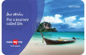 MakeMyTrip E-Gift Cards | Instant Delivery - Woohoo.in