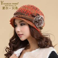 <b>Charles Perra</b> Women <b>Hats</b> Winter Thicken Double Layer Thermal ...
