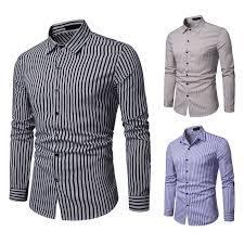 <b>Men's</b> Fashion Black Striped <b>Shirt</b> 2019 Spring New Classic ...