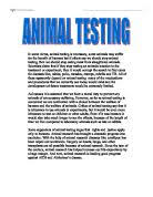 animal testing   gcse english   marked by teachers comanimal testing