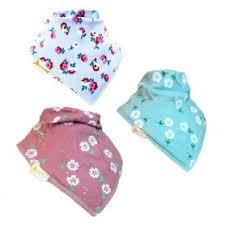 <b>Bandana Bib</b> Set of 3 <b>Lovely</b> Lilacs | Baby Clothes - Changing Bags ...