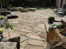 stone patio installation:  wonderful flagstone patio installation also home decoration planner with flagstone patio installation
