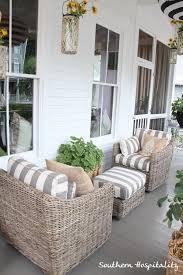 ideas wicker patio furniture pinterest