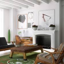 living room taipei woont love: give this loft a balanced retro and modern feel