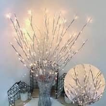 5 шт. модель дерева ветка 20 светодиодный свет <b>гирлянда</b> ...