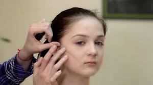 Коррекция круглого лица с помощью <b>макияжа</b> - YouTube
