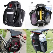 <b>Wheel Up Portable</b> Outdoor Cycling Accessories Seat Bag 2 Water ...