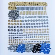 ZXZ 500pcs/set Building Blocks Bulk Technic Parts Technic ... - Qoo10