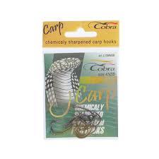 <b>Крючки Cobra Carp</b> Koi 708 NSB №4, набор 10 шт. арт.927245 в ...