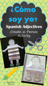 best ideas about personality adjectives list of spanish descriptive adjectives create a person activity