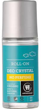 Urtekram <b>Шариковый дезодорант-кристалл без</b> аромата, 50мл ...
