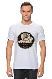 Футболка классическая The Spirit Of Munro. <b>Indian</b> #1314154 от ...