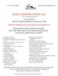 handyman services cozz construction handyman services