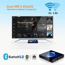 OKEU Android TV Box Android 10.0 4GB RAM 64GB ROM, <b>Q6</b> ...