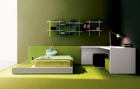 Simple And Modern Green Bedroom Styles