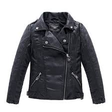 LJYH Children's Collar Motorcycle Faux Leather Coat ... - Amazon.com