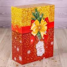 Подарочная упаковка для новогодних подарков купить ...