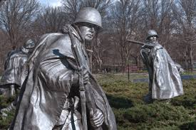 Image result for pictures washington dc memorial korean war