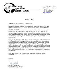 schumacher resigns seat on hays usd board  update schumacher    s letter of resignation from the hays usd board