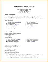 example internship cvs cover letter templates example internship cvs example cvs the university of manchester mba internship resume example 187 mba