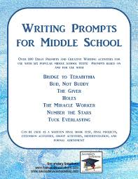 latest writing prompts for middle schoolthe world of writings writing topics by albertjames 50 creative writing topics for kids wzl28d18