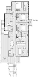 Proposed Raised House   New Orleans  LA    Blue ArchitectureProposed Raised House   New Orleans  LA