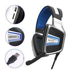 <b>SENICC</b> A8 <b>USB</b> Virtual 7.1 Sound Gaming Headset with Mesh ...