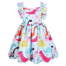 <b>Chivry 2019</b> Girls Unicorn Dress <b>Kids</b> Girls Pincess Party Dress ...