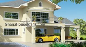 Ghana House Plans   Africa House Plans   Ghana Architects     Tamakloe House Plans Home Front View