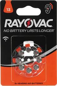 "<b>Батарейка</b> для слуховых аппаратов <b>Varta</b> ""<b>Rayovac Acoustic</b>"", тип ..."