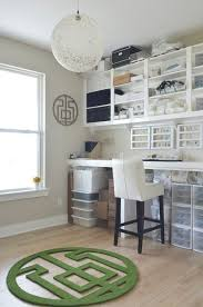waxahachie tx ben sarah wilson contemporary craft room idea in dallas with gray walls light hardwood amazing build office