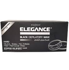 Elegance <b>Black</b> Depilatory <b>Wax</b> - <b>Черный воск для</b> депиляции ...