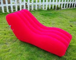 pink outdoor pvc modern inflatable furniture office blow up sofa blowup furniture