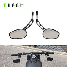 Motorcycle Rear View Side Mirrors For <b>Harley</b> Road King Touring ...