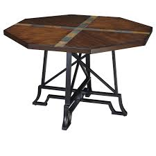 wrought black wrought iron table