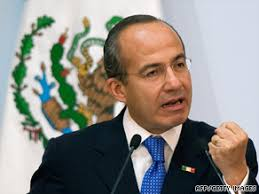 Mexican President Felipe Calderon wasn't on Sunday's ballot and has three years left in his six-year term. With more than 99 percent of the votes counted, ... - art.felipe.calderon.afp.gi