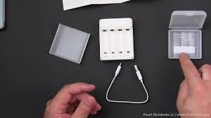 Зарядное устройство и аккумуляторная батарея <b>ZMi</b> AA ZI5 <b>Ni</b> ...