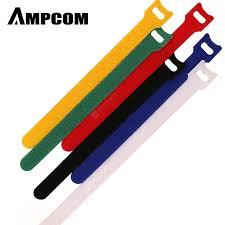 <b>AMPCOM Fastening Cable Ties</b> Hook Loop Reusable Self ...