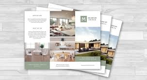 how to design an effective real estate brochure befunky blog brochure design by befunky